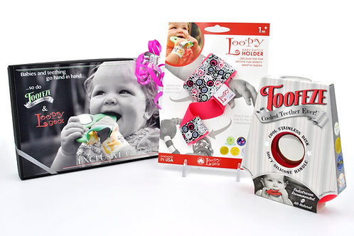 Exclusive Toofeze Loopy Gift Sets - Coral Floral