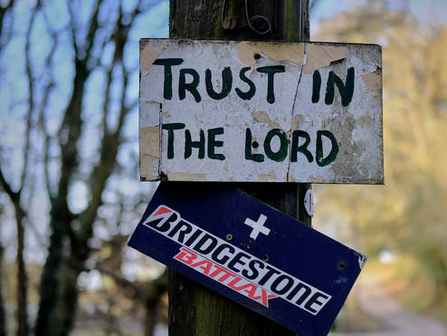 Trust in the Lord and Bridgestone Tyres