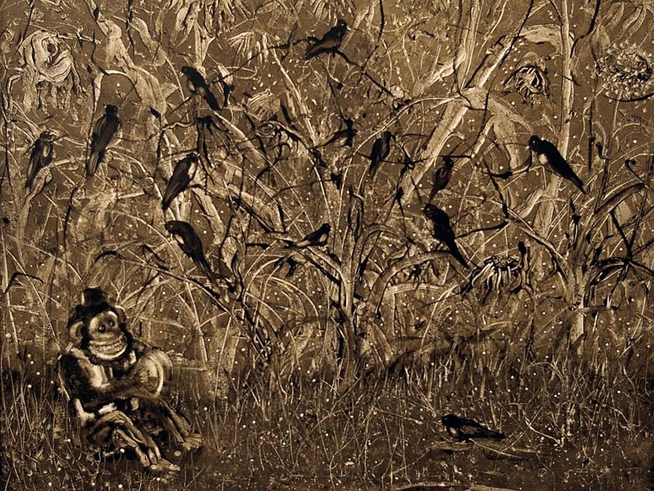 Orpheus Taming the Birds