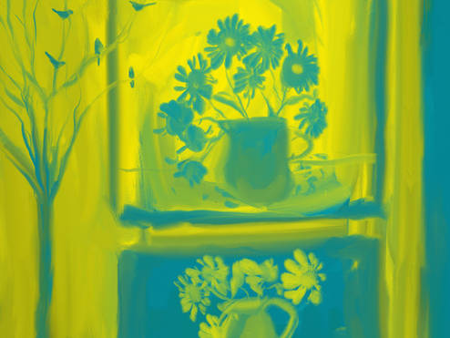 Yellow Still-Life