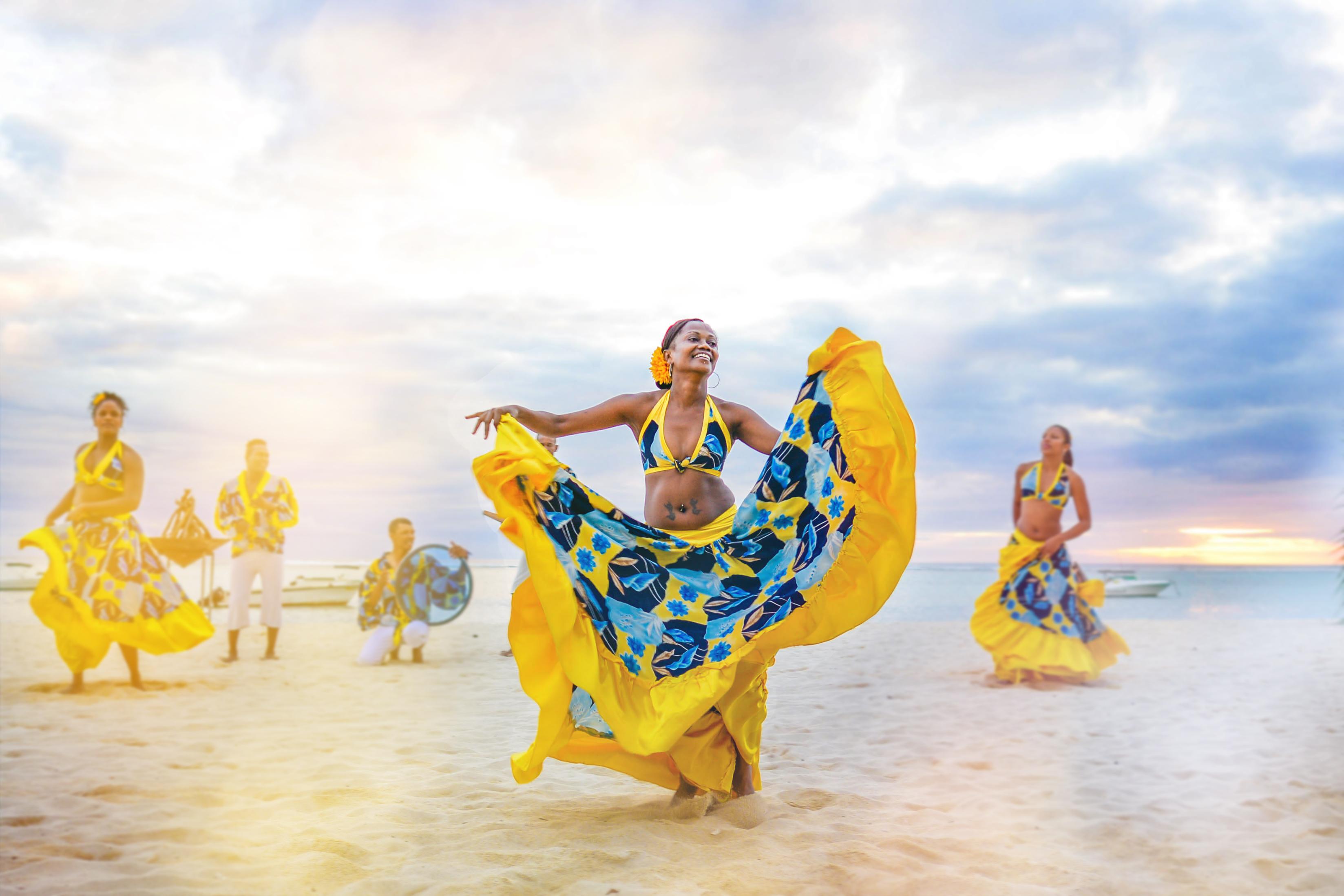 Mauritius dance