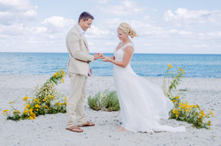 beach wedding Danmark
