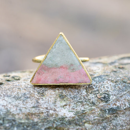 Triangle Ring Blush/Cream