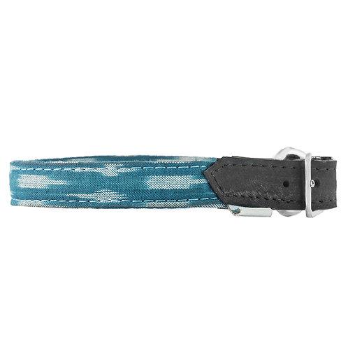 ADD Blue Ikat Collar