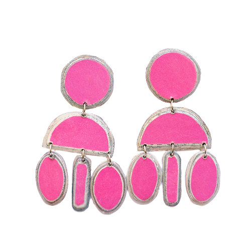Nelly Studs Pink