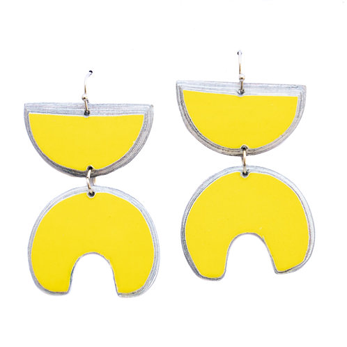 Lindiwe Earrings Yellow