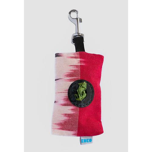 Pink Dog Waste Bag Dispenser