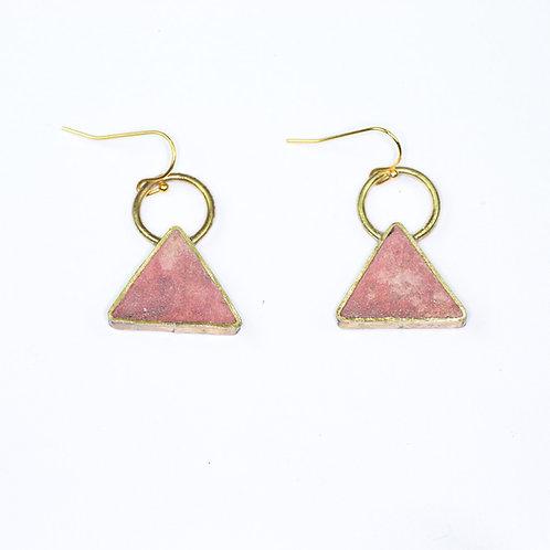 Pulp Triangle Earrings