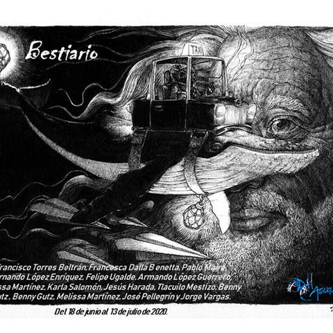 """""""Bestiario"""" / Expo Junio"""