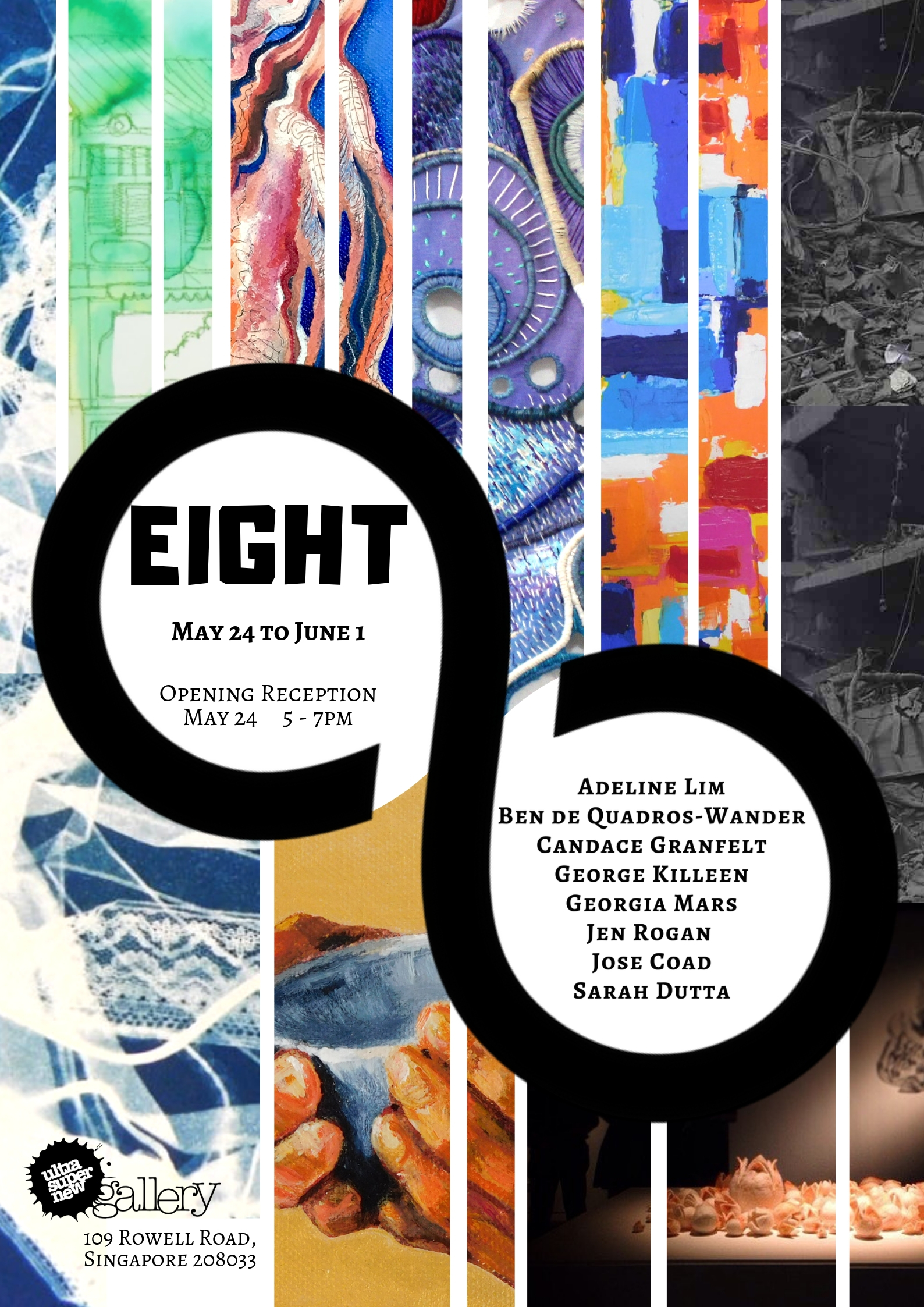 EIGHT Exhibition Poster 2019
