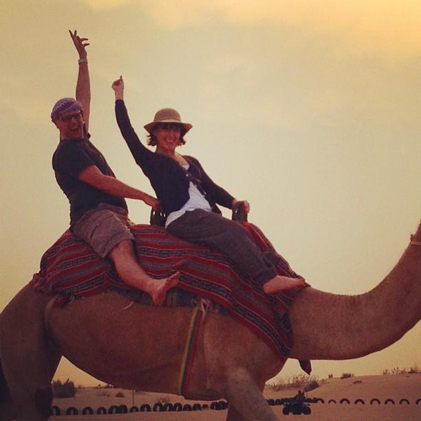 Yeehaw camel style