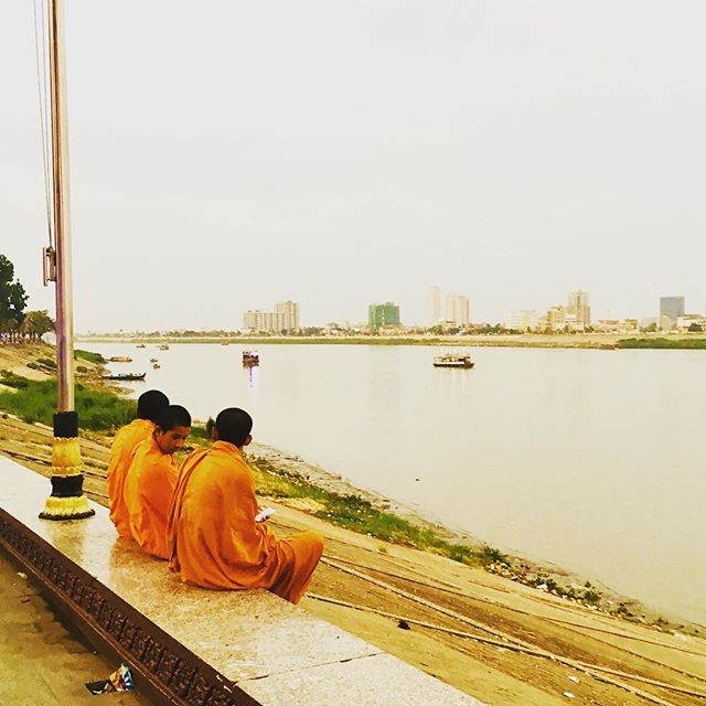 Monks and the Mekong