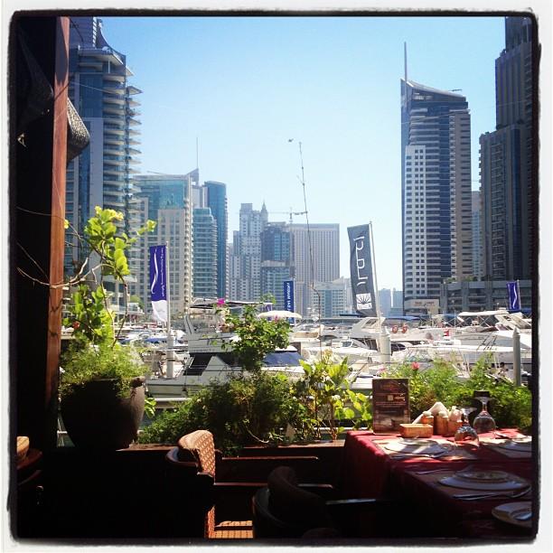 My beautiful #cafeview #Dubai