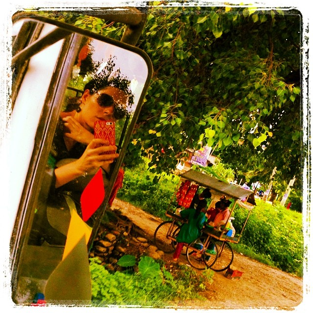 #unintentionalselfie #viewfromthebus #nepal