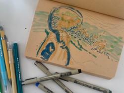 Charting Dreams Sketch