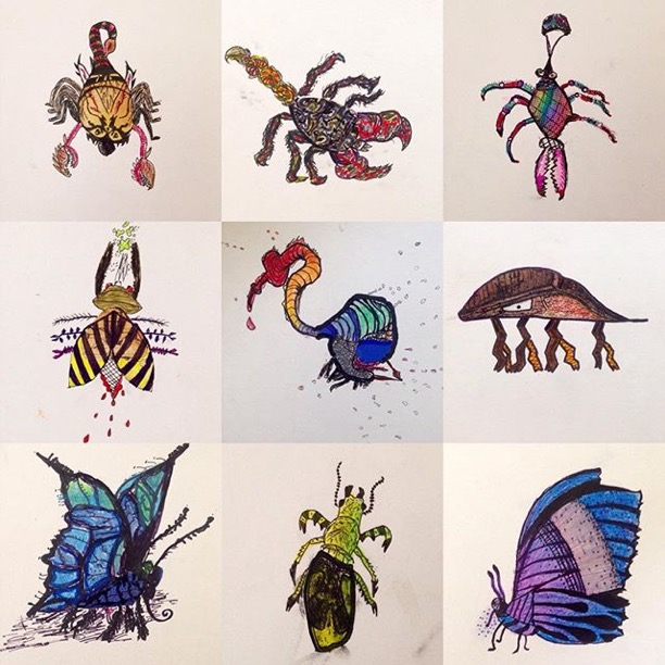 Inspiration Dot Insects