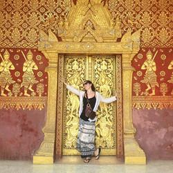 Feeling  glamorous in #laos