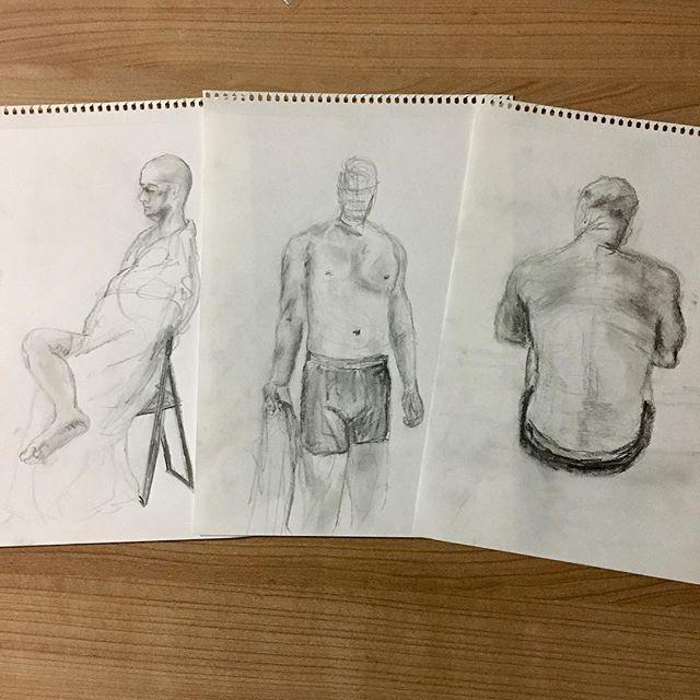 My top three drawings from the night.jpg #ISZAF #shenzhenart
