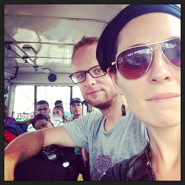 Killing time with a shameless selfie #viewfromthebus #nepal