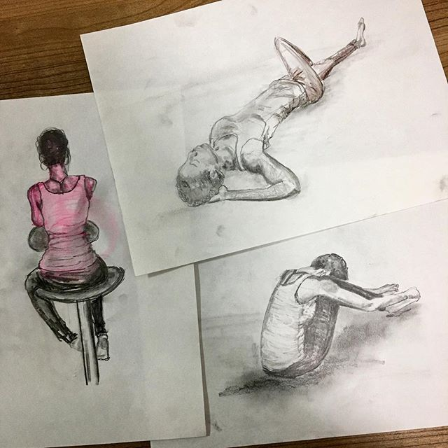 My top three drawings from the night