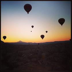 Sunrise in Cappidocia