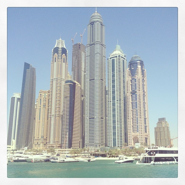 #view from the Palm #JBR #jumeirah