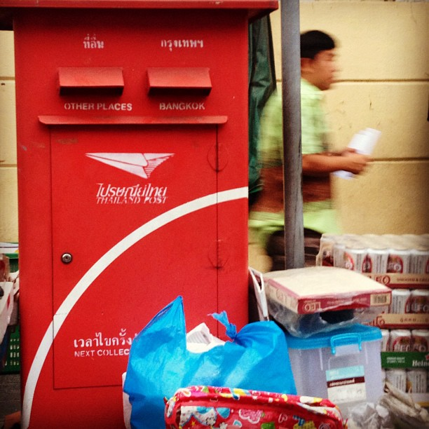 #mail #bangkok #otherplaces