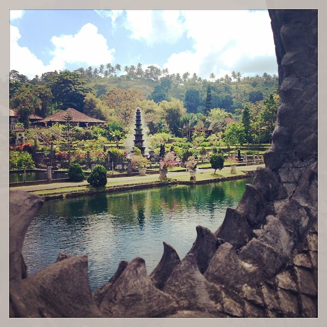 The breathtakingly beautiful #watertemple #bali #indonesia