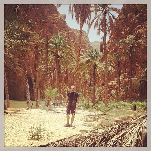 Such a strange-beautiful landscape #wadishab #oman