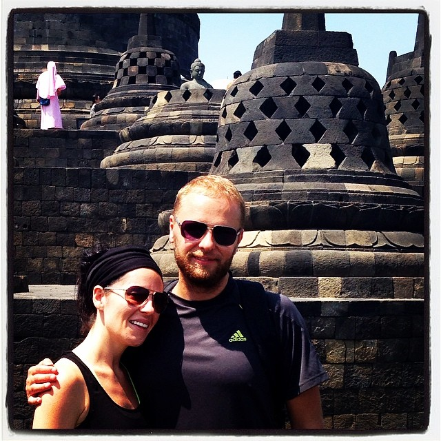 Breathtaking Borobudur! I thoroughly enjoyed this temple and our extremely knowledgable guide
