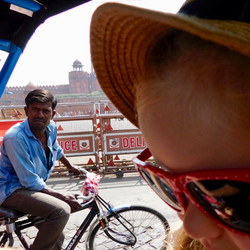 Rickshaw Driver #india