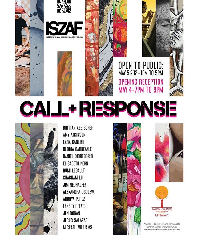 Call & Response Exhibition Poster