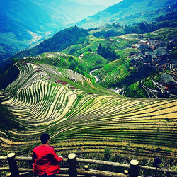 The majesty that is The Dragons Backbone Rice Terraces