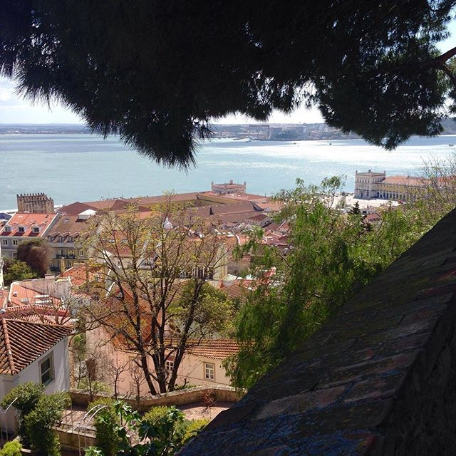 The view was stunning 😍#Lisbon #Portugal