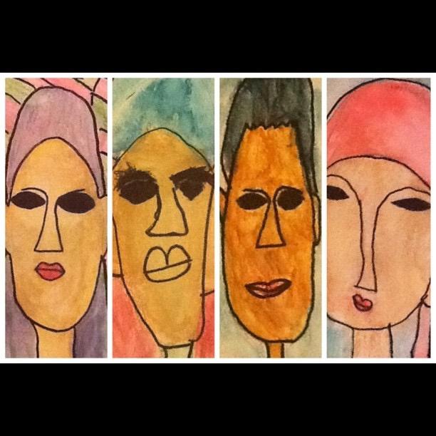 Modigliani Style Portraits