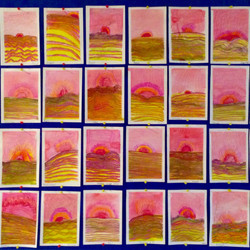 Warm Colours Desert Sunset