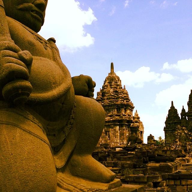 Prambanan, a stunning Hindu temple built in the 10th century