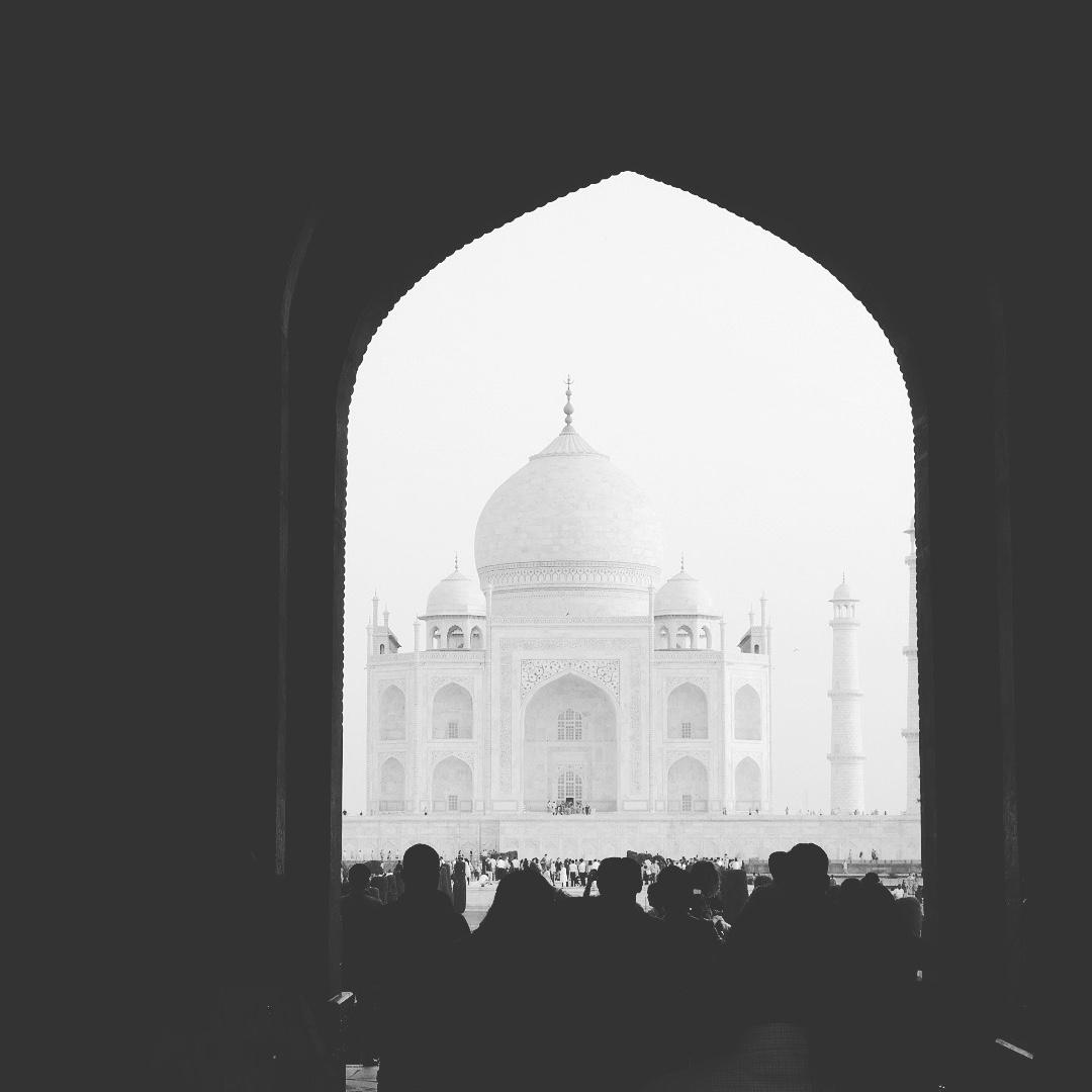 Taj Mahal at Sunrise #india