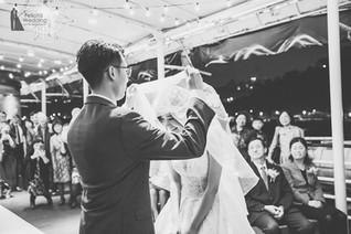 婚禮儀式|揭頭紗