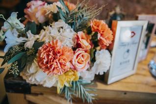 婚禮佈置|復古暖色的婚禮派對