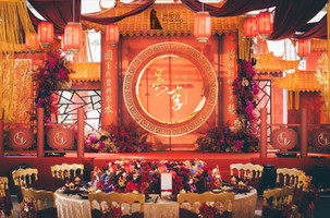 婚禮佈置|古典東方風華