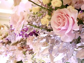 婚禮佈置|粉嫩莫蘭迪