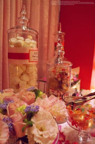 甜蜜繽紛的Candy Bar