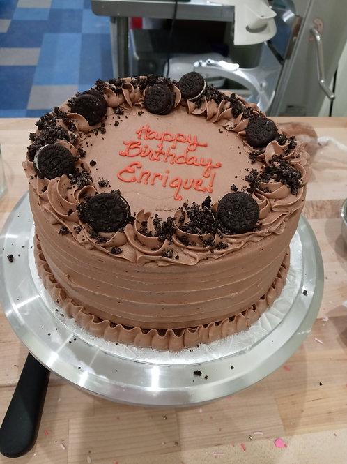 Cookies and Creme Chocolate Cake