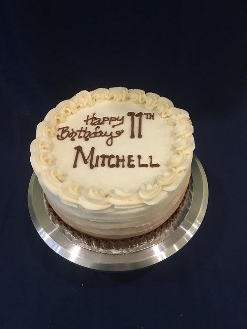 "Mocha Cake (10"")"