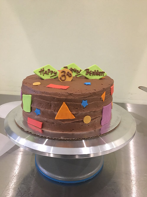 Shapes Cake