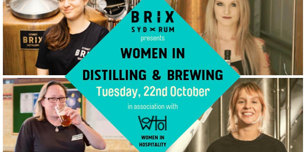 Women in Distilling & Brewing