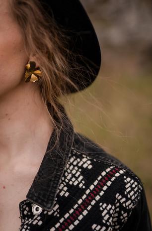 prostě šťastná Klárka a naušnice od Aničky Kubicové