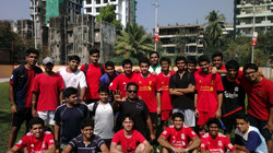 A group photo after the Footie Meet