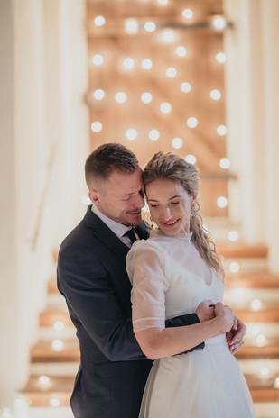 Prostě šťastná chvíle přechodu do manželství